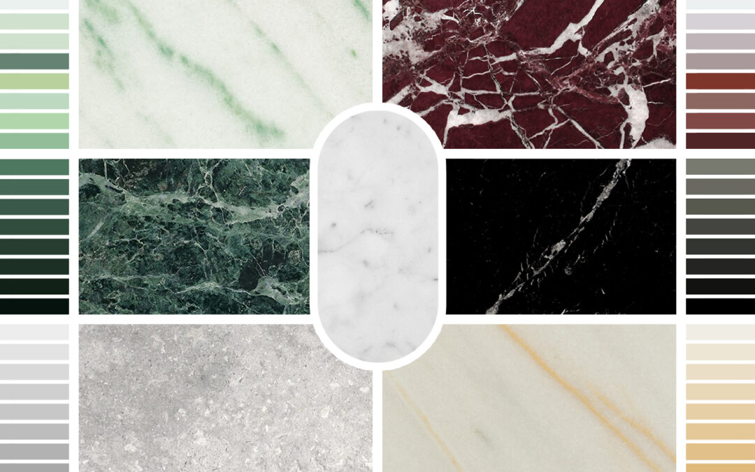 New marble finishings by Scapin Collezioni